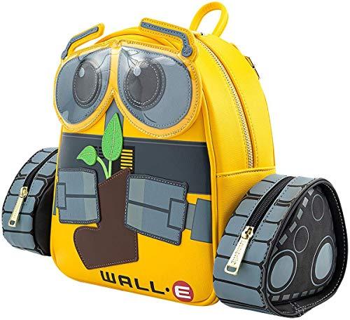 Loungefly Women's Pixar WALL-E Plant Boot Mini Backpack (Standard, Yellow)