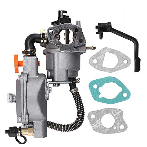 Zreneyfex Carburetor Dual Fuel Carb Conversion Kits Replacemant for Tonco Generator GX200 170F 170G-GX200