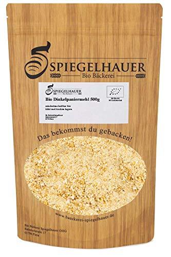 Bio Dinkelpaniermehl 500 g Semmelmehl weizenfreie Dinkelpanade