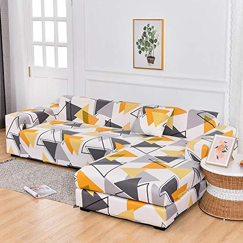 Funda de sofá Tapa de sofá de tela escocesa elástica cubierta de la esquina de la esquina de la esquina de la esquina para la sala de estar 1/2/3/4 SlightCover L-en forma de l necesita comprar 2 pieza