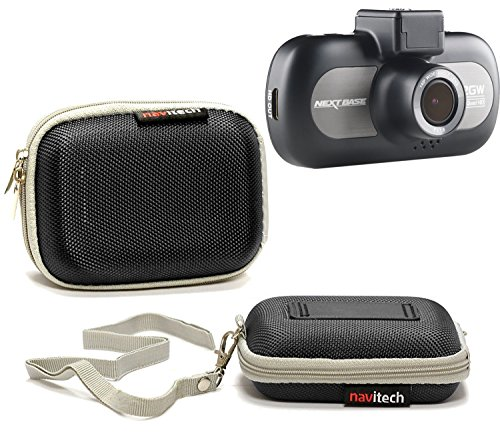 Navitech Black Water Resistant Dash Cam Case Cover Compatible with The Xuanpad Dash Cam Full HD 1080P
