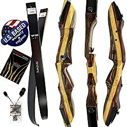 SOUTHWEST ARCHERY TIGERSHARK TAKEDOWN RECURVE BOW AND ARROW