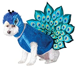 peacock Halloween Dog Costumes