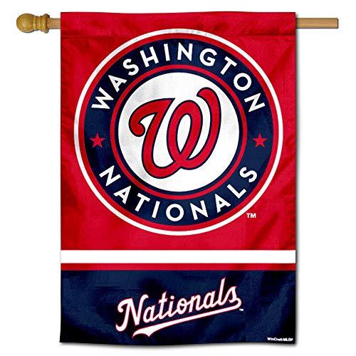 WinCraft Washington Nationals Double Sided House Flag