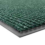 Notrax 109S0046GN 109 Brush Step Entrance Mat, For Home or Office, 4' X 6' Hunter Green