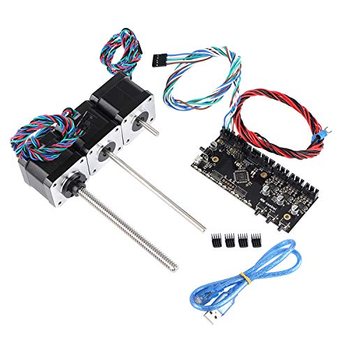 Aibecy 3D Printer Parts Multi Materials MMU2 Board Control Board met Power Signal Wire and Motors Kit Compatibel met Prusa I3 Mk3 MMU2.0