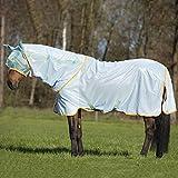 Horseware Amigo Bug Rug Fly Sheet 84 Azure/Aqua/Orange