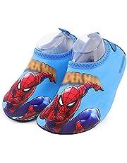 Spiderman Waterschoenen Strandslipper Kinderzwembadslipperettes Outdoor Surf-slippers Ademend Lycra Spandex-muiltjes Zachte Zolen Bodem Sandalen