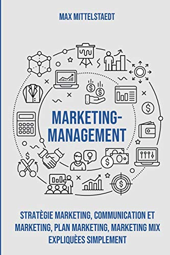 Marketing Management: Stratégie marketing, Communication et marketing, Plan marketing, Marketing mix expliquées simplement