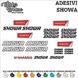 Set Adesivi Showa Tagliati Singolarmente Stickers Compatibili Kit Decalcomanie Personalizza Colore