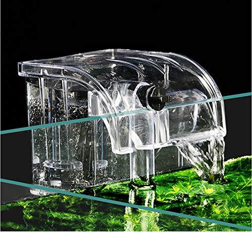 BPS BPS-6077 Filtre externe pour aquarium suspendu, réservoir de poissons externe, filtre à énergie, suspension de cascade Pompe à oxygène 380 l/h