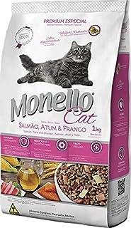 MONELLO CAT FOOD SALMON,TUNA AND CHICKEN 1KG