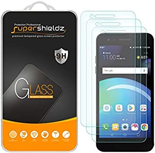 (3 Pack) Supershieldz for LG Phoenix 4 Tempered Glass Screen Protector, Anti Scratch, Bubble Free