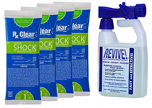 REVIVE! Spring Pool Opening Chemical Kit | for Pools up to 30,000 Gallons