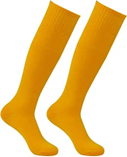 2e11e5370a44 Amazon.com  Yellow - Socks   Men  Sports   Outdoors