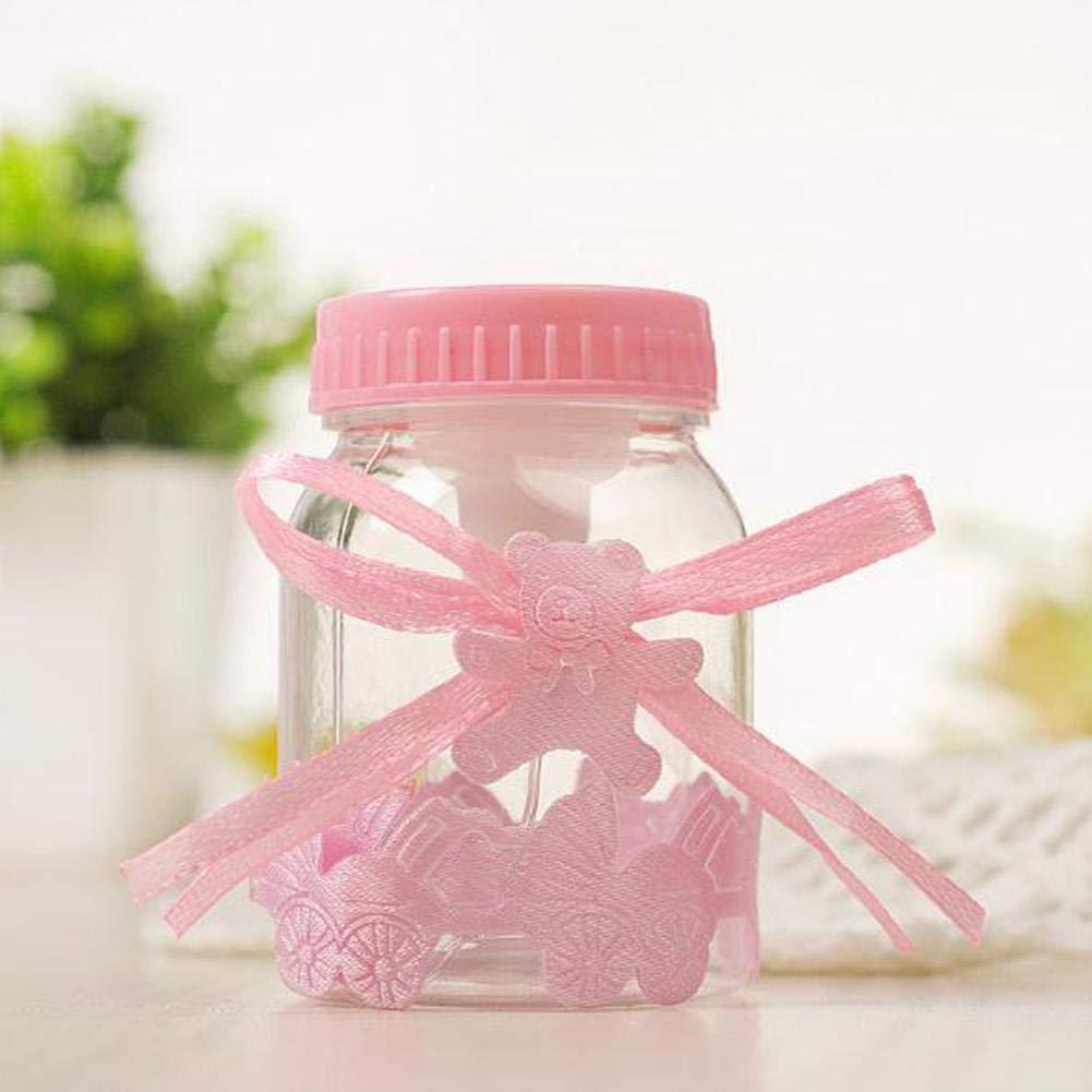 Caja de dulces Botella pequeña Caja de plastico Creativo Bebe luna llena Caja de dulces de regalo: Amazon.es: Bricolaje y herramientas
