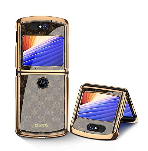 Hülle® Anti-Kratzer Glas Handyhülle Kompatibel für Motorola Razr 5G/Motorola Razr 2/Motorola Razr 2020/Motorola Razr gen 2 (8)