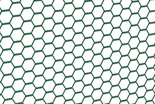 GAH-Alberts 614225 Sechseckgeflecht | verschiedene Längen und Höhen - wahlweise in verschiedenen Farben | grün | Maschen 25 x 25 mm | Höhe 50 cm | Länge 10 m