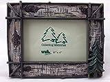 WD Rustic Twig & Birch w/Pine Tree Photo Frame 6x4, Horizontal