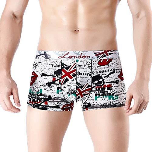 RANTA 2020 Sales Herren Boxershorts Unterhosen Tarnung Atmungs Dreieck Höschen Sportunterwäsche Unterhosen Boxershorts 100% Baumwolle ohne Seitennaht Seamless Grösse