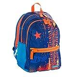 Zaino Mitama Plus Let's Go - multicolore, 30 LT, Leggero e robusto, megazip, doppio scomparto, scuola elementare