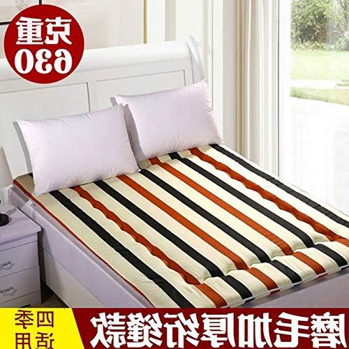 YLCJ Draagbare matras met padpad, vochtbestendig, 90 x 190 cm (35 x 75 inch)