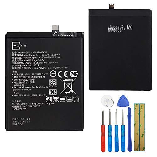 E-yiiviil HB386280ECW - Batería de repuesto compatible con Huawei P10 Honor 9 VTR-L09 VTR-L29 con herramientas