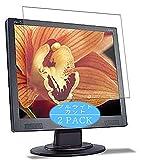 VacFun 2 Piezas Filtro Luz Azul Protector de Pantalla, compatible con Acer AL1914 19' Display Monitor, Screen Protector Película Protectora(Not Cristal Templado) NEW Version