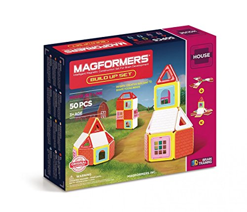 Magformers - Build Up Set (50 Piezas)