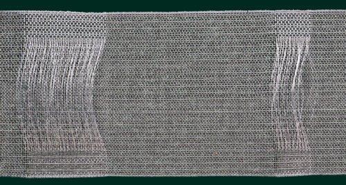 Ruther & Einenkel Schlaufenband, 100 mm, volltransparent/Aufmachung 10 m