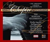 Great Chopin Performers by Argerich/Pogorelich/Harasiewic/Bunin/Ashkenazy (2010-05-25)