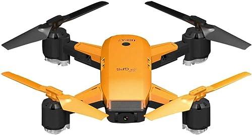 Hukz Faltbarer WiFi FPV Selfie Drohne RC GPS Positionierung Quadrocopter mit 1 Batterie, 720P HD Kamera Live Ubertragung, Lange Flugzeit, Auto Return und Hover, Follow Me Modus (A)