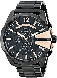 ساعة DZ4309 ديزل ميجا شيف كوارتز بشاشة انالوج بعقارب سوداء من ديزل، 2724310990582