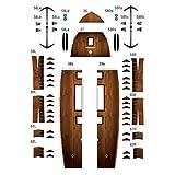 Kitechildhssd Modelo de Material de Papel de Perla Negra con Forma de Barco Pirata para Ventilador Militar, Modelo DIY Hecho a Mano