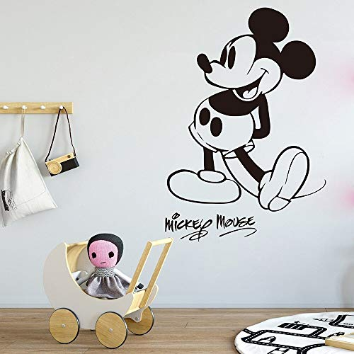 Tianpengyuanshuai Cartoon muis muur sticker baby kinderkamer kinderkamer muis cartoon muur sticker vinyl huisdecoratie
