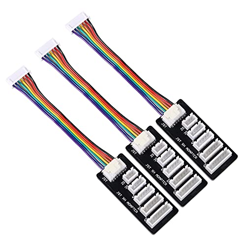 3PCS JST-XH 2-6S Lipo Battery Charge Balance Board Expansion Board Adapter Converter for JST-XH Connector Balance Board