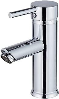 Beati Faucet Modern Bathroom Vessel Sink Single Handle Deck Mount Faucet, Chrome Finish