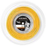 HEAD Unisex-Erwachsene Synthetic Gut PPS Rolle Tennis-Saite, Gold, 17