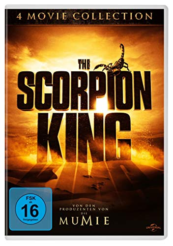 Scorpion King 4 Movie Collection [4 DVDs]
