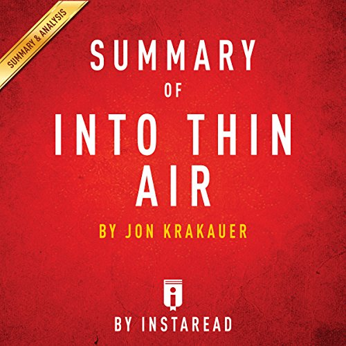 Summary of Into Thin Air by Jon Krakauer | Includes Analysis audiobook cover art