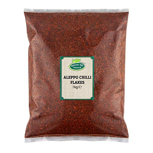 Getrocknete Aleppo Chiliflocken (Aleppo Chilli Flakes - Pul Biber) 1kg von Hatton Hill
