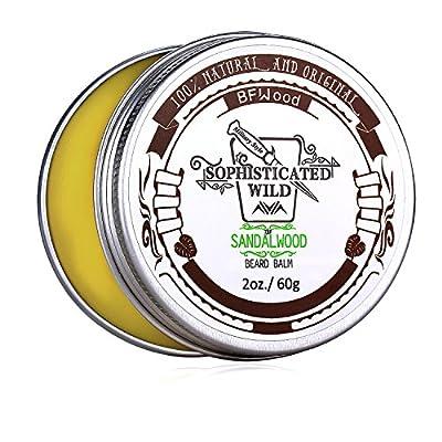 BFWood Sandelholz-Geruch Bart-Balsam für
