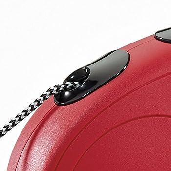 Flexi New Classic Laisse en Cordon pour Chat Rouge 3 m 8 kg Taille XS