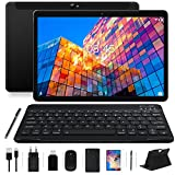MEBERRY Tablet 10 Pulgadas Android 10.0 Ultrar-Rápido Tablets 4GB RAM+64GB ROM - WI-FI+Cellular | Google GMS | Dual SIM & Dual Cámara...