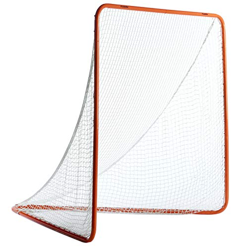Franklin Sports Official Lacrosse Goal - 6' x 6' x 6' Quick Set Up Lacrosse Goal