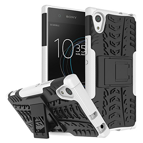 WindHülle Xperia XA1 Ultra Hülle, Outdoor Dual Layer Armor Tasche Heavy Duty Defender Schutzhülle mit Ständer Hülle für Sony Xperia XA1 Ultra 6.0