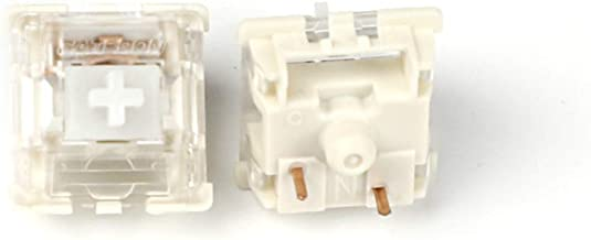 Gateron MX SMD Gateron Switches 3pin SMD LED Underglow Led Compatible for MX Mechanical Keyboard Transparent Cover White Base