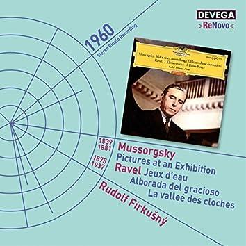 Mussorgsky: Pictures at an Exhibition - Ravel: Jeux d'Eau, Alborada del Gracioso, La Valleé des Cloches