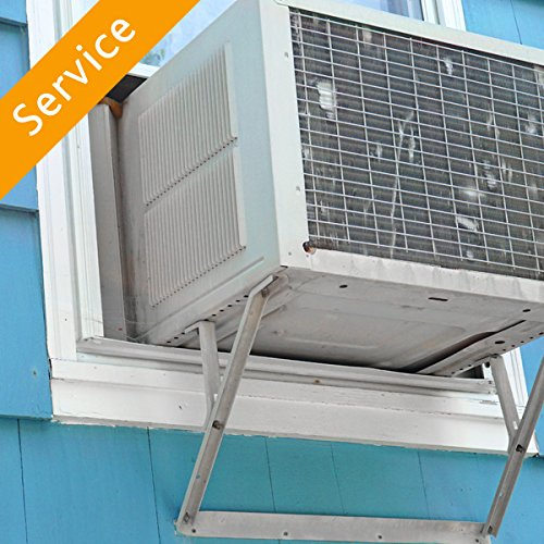 Window Evaporative Cooler Installation - Replacement and Haul Away