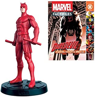 Marvel Fact Files Special #15 Daredevil Statue with Collector Magazine